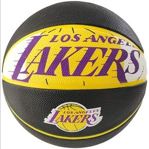 🔹NBA Lakers  Rubber Basketball  🔹 NEW
